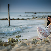 Beach shoot in Cozumel, Mexico