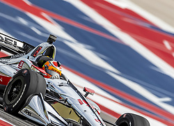 March 22, 2019 - Austin, Texas, U.S. - SANTINO FERRUCCI (R) (19) of the United States goes through the turns during practice for the INDYCAR Classic at Circuit Of The Americas in Austin, Texas. (Credit Image: © Walter G Arce Sr Asp Inc/ASP)
