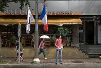 French quarter Seorae mae, Seoul, South Korea. 2009<br /> <br /> Quartier Francais de Seorae Mae aussi appele le village francais, Seoul, Coree du Sud.