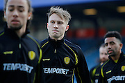 New Burton Albion loan signingBurton Albion striker Cauley Woodrow (12) from Fulham during the EFL Sky Bet Championship match between Queens Park Rangers and Burton Albion at the Loftus Road Stadium, London, England on 28 January 2017. Photo by Richard Holmes.