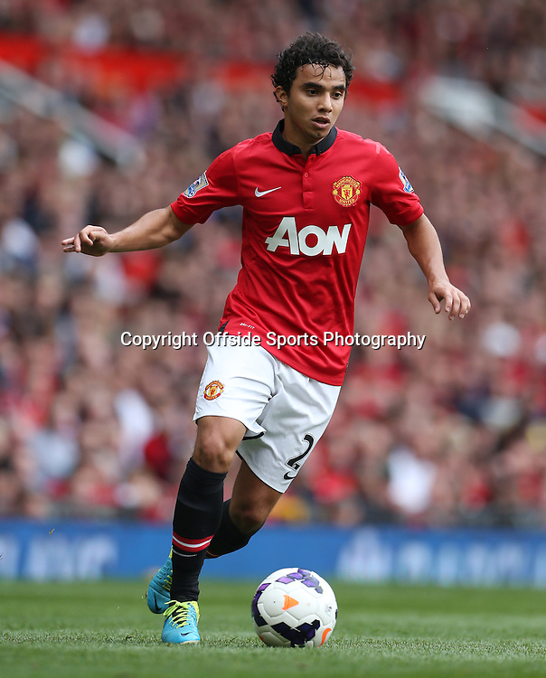 14th September 2013 - Barclays Premier League - Manchester United v Crystal Palace - Fabio Da Silva of Man Utd - Photo: Simon Stacpoole / Offside.