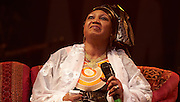 MALMESBURY, UK - JULY 31: Les Amazones d'Afrique perform on stage at Womad on July 31st, 2016 in Wiltshire, United Kingdom. (Photo by Philip Ryalls)**Les Amazones d'Afrique