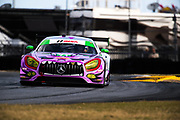 January 24-28, 2018. IMSA Weathertech Series ROLEX Daytona 24. 71 P1 Motorsports, Mercedes-AMG GT3, Kenton Koch, Loris Spinelli, Robert Foley III, JC Perez