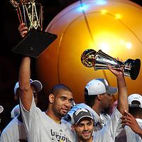 June 14, 2007 NBA Finals Game 4