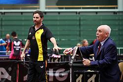VALERA Alvaro of Spain and a judge at 14th Slovenia Open - Thermana Lasko 2017 Table Tennis Championships for the Disabled Factor 6, on May 9, 2017, in Dvorana Tri Lilije, Lasko, Slovenia. Photo by Matic Klansek Velej / Sportida