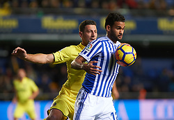 January 27, 2018 - Vila-Real, Castellon, Spain - Daniele Bonera of Villarreal CF and Willian Jose of Real Sociedad during the La Liga match between Villarreal CF and Levante Union Deportiva, at Estadio de la Ceramica, on January 26, 2018 in Vila-real, Spain  (Credit Image: © Maria Jose Segovia/NurPhoto via ZUMA Press)