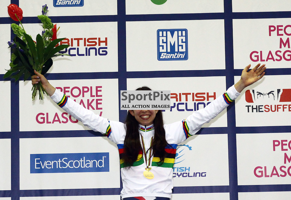 Danielle Khan took gold in the womens 500m time trial (c) Craig Jardine | sportpix.org.uk