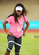 Mar 10, 2018; Cape town, South Africa; Kira Robinson of Dallas, Texas, during the TrackGirlz events at University of Western Cape on March 10, 2018 in Cape Town, South Africa. (Roger Sedres/Image of Sport)
