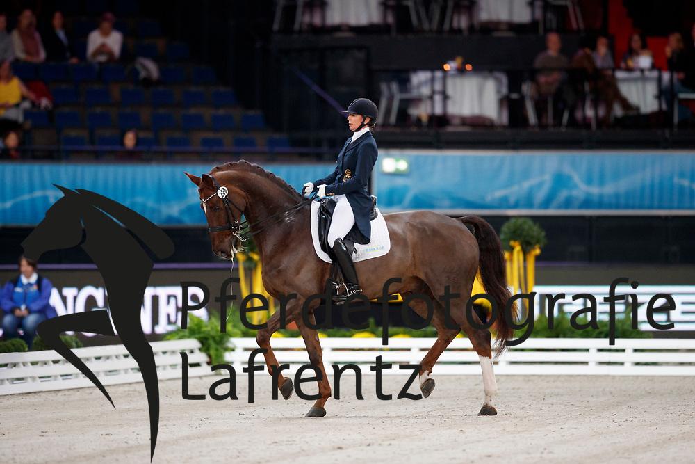 Casper, Nicole (GER) Dallas<br /> Stuttgart - German Masters 2016<br /> © www.sportfotos-lafrentz.de
