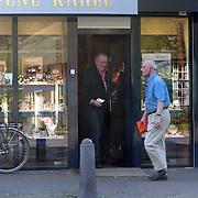 Henk van Dorp verlaat juwelier Rene Kahle in Laren