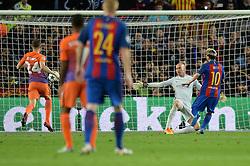 Lionel Messi of Barcelona scores a hat-trick - Mandatory by-line: Dougie Allward/JMP - 19/10/2016 - FOOTBALL - Camp Nou - Barcelona, Catalonia - FC Barcelona v Manchester City - UEFA Champions League