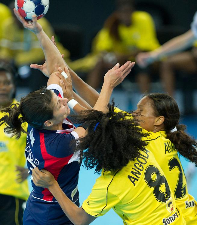 London Handball Cup - China vs Slovakia -  Yvonne Leuthold (GB)