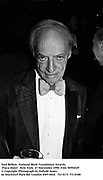 Saul Bellow. National Book Foundation Awards. Plaza Hotel . New York. 27 November 1990. Film 90992f29<br /> &copy; Copyright Photograph by Dafydd Jones<br /> 66 Stockwell Park Rd. London SW9 0DA<br /> Tel 0171 733 0108