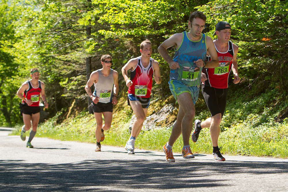 53rd Mt Washington 7.6 mile Road Race Base to Summit:
