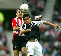 Fotball, 14.september 2002. Sunderland - Fulham. Stadium of Light. Junichi Inamoto, Fulham.
