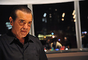 "Chazz Palminteri greeting fans after a performance of ""A Bronx Tale"" in Austin Texas, September 5 2008. Chazz Palminteri (b. May 15, 1952) is an Academy Award-nominated American actor and writer, best known for his performances in ""The Usual Suspects"", ""A Bronx Tale"" and ""Mulholland Falls"".  Palminteri, a Sicilian/Italian American was born Calogero Lorenzo Palminteri in the Bronx, New York, which has influenced his work, particularly A Bronx Tale, a play which he wrote and adapted into a 1993 film which starred him and Robert De Niro. Palminteri has had acclaimed dramatic performances in films such as ""The Perez Family"", ""Jade"" and ""Diabolique,"" as well as comedic film roles in ""Analyze This"" and ""Down to Earth"". Palminteri plays 18 roles in the semi-autobiographical, ""A Bronx Tale"", which is a story of a rough childhood growing up on the streets of the Bronx."