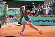 01.JUNE.2011. PARIS<br /> <br /> CAROLINE WOZNIACKI AT THE TENNIS FRENCH OPEN 2011 AT ROLAND GARROS IN PARIS.<br /> <br /> BYLINE: EDBIMAGEARCHIVE.COM<br /> <br /> *THIS IMAGE IS STRICTLY FOR UK NEWSPAPERS AND MAGAZINES ONLY*<br /> *FOR WORLD WIDE SALES AND WEB USE PLEASE CONTACT EDBIMAGEARCHIVE - 0208 954 5968*