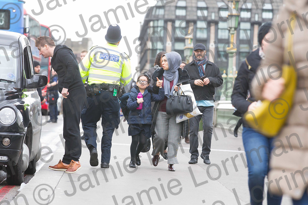 Incident on Westminster Bridge, London<br /> <br /> Pictured: Ongoing incident in Westminster Bridge area, London<br /> <br /> Jamie Lorriman<br /> mail@jamielorriman.co.uk<br /> www.jamielorriman.co.uk<br /> 07718 900288