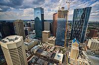 Downtown Calgary from Calgary Tower