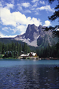 Emerald Lake Lodge, Mt. Burgess, Yoho National Park, B.C., Canada<br />