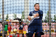 Hugo Tavernier (FRA) competes in Hammer Throw Men during the IAAF World U20 Championships 2018 at Tampere in Finland, Day 2, on July 11, 2018 - Photo Julien Crosnier / KMSP / ProSportsImages / DPPI