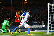 Danny Graham during the Sky Bet Championship match between Blackburn Rovers and Birmingham City at Ewood Park, Blackburn, England on 8 March 2016. Photo by Pete Burns.