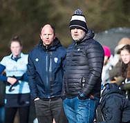 BLOEMENDAAL - assistent coach Andre Morees (Bldaal) hoofdklasse competitie dames, Bloemendaal-Nijmegen (1-1) COPYRIGHT KOEN SUYK