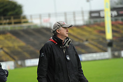 Balla Manager Pat Fallon looks on during the junior semi-final at McHale on saturday evening.<br />Pic Conor McKeown