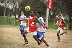 Lance da partida entre as equipes do Lami x Conexão 282 válida pela Copa Coca-Cola 2013. FOTO: Jefferson Bernardes/Preview.com