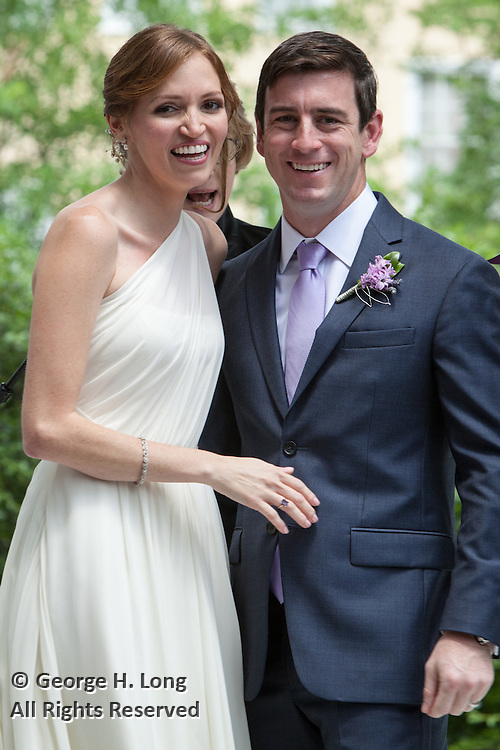 wedding of Caroline Robinson and Eddie Cliff on May 9, 2015