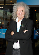 Conservative Party Conference, ICC, Birmingham, Great Britain <br /> Day 3<br /> 9th October 2012 <br /> <br /> Brian May at the Hyatt <br /> <br /> Photograph by Elliott Franks<br /> <br /> United Kingdom<br /> Tel 07802 537 220 <br /> elliott@elliottfranks.com<br /> <br /> ©2012 Elliott Franks<br /> Agency space rates apply