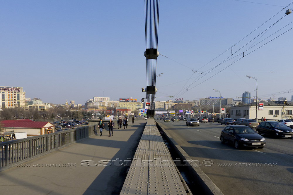 Krimsky Bridge, Moscow Russia