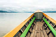 Inle lake seen from boat