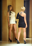 16.MARCH.2011. LONDON<br /> <br /> KERRY KATONA AND NICOLA McLEAN WHO IS SLUMPED DOWN BOTH LOOKING VERY WORSE FOR WEAR AS THEY WAIT FOR THE LIFT INSIDE THE MAYFAIR HOTEL AT 1.30AM AFTER HAVING A DRINK IN THE BAR WITH AMY ADAMS AND DANIELLE BROWN.<br /> <br /> BYLINE: EDBIMAGEARCHIVE.COM<br /> <br /> *THIS IMAGE IS STRICTLY FOR UK NEWSPAPERS AND MAGAZINES ONLY*<br /> *FOR WORLD WIDE SALES AND WEB USE PLEASE CONTACT EDBIMAGEARCHIVE - 0208 954 5968*