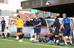 Bristol Rovers manager Graham Coughlan shouts out instructions to his players - Mandatory by-line: Arron Gent/JMP - 21/09/2019 - FOOTBALL - Cherry Red Records Stadium - Kingston upon Thames, England - AFC Wimbledon v Bristol Rovers - Sky Bet League One