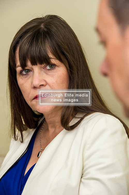 FREE TO USE 1st Use ONLY   FREE TO USE 1st Use ONLY   FREE TO USE 1st Use ONLY<br /> <br /> Pictured:  Clare Haughey<br /> <br /> Today, Mental Health minister Clare Haughey visited Edinburgh Royal and discussed hospital inpatient mental health care with Chief Nurse/General manager Kaen Ozdedn and Director of Operations Tim Montgomery. The Mental Health minister viewed progress and performance on the day official statistics are published reporting on trends since 1997/98.
