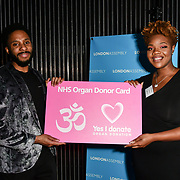 Jamal Hope attend The BAME Donor Gala - Awareness gala hosted by the Health Committee with live music and poetry performances at City Hall at The Queen's Walk, London, UK. 18 March 2019.