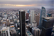 Smog in Downtown Los Angeles
