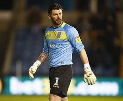 February 12, 2019 - London, England, United Kingdom - Sheffield Wednesday's Sheffield Wednesday's Kieran Westwood.during Sky Bet Championship match between Millwall and Sheffield Wednesday at The Den Ground, London on 12 Feb 2019. (Credit Image: © Action Foto Sport/NurPhoto via ZUMA Press)