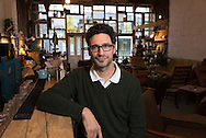 Italian author David Bez published Salad Love recently.Photographed at Hatch-Homerton, London.