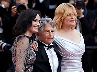 Eva Green, director Roman Polanski and Emmanuelle Seigner at Based on a True Story (D'apres Une Histoire Vraie) gala screening at the 70th Cannes Film Festival Saturday 27th May 2017, Cannes, France. Photo credit: Doreen Kennedy