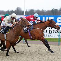 Mafi and Thomas Brown winning the 2.30 race