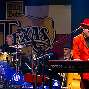 The Mavericks perform at Billy Bob's Texas, with Jerry Dale McFadden on Keys and Paul Deakin on drums, Friday October 7th, 2016. (Special to the Star-Telegram/Rachel Parker)