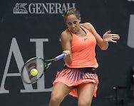 Madison Keys (USA) on Day Three of the WTA Generali Ladies Linz Open at TipsArena, Linz<br /> Picture by EXPA Pictures/Focus Images Ltd 07814482222<br /> 12/10/2016<br /> *** UK & IRELAND ONLY ***<br /> <br /> EXPA-REI-161012-5005.jpg
