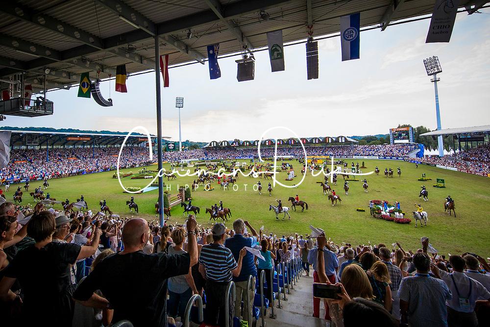 Overview<br /> Aachen 2018<br /> © Hippo Foto - Sharon Vandeput<br /> 22/07/18