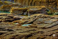 shoreline rock formations near Cliffony