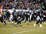 Dec 25, 2017; Philadelphia, PA, USA; Philadelphia Eagles running back LeGarrette Blount (29 during a NFL football game at Lincoln Financial Field. The Eagles defeated the Raiders 19-10. Photo by Reuben Canales