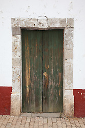 """Door 5"" - This old wooden door was photographed in the small mountain town of San Sebastian, Mexico."