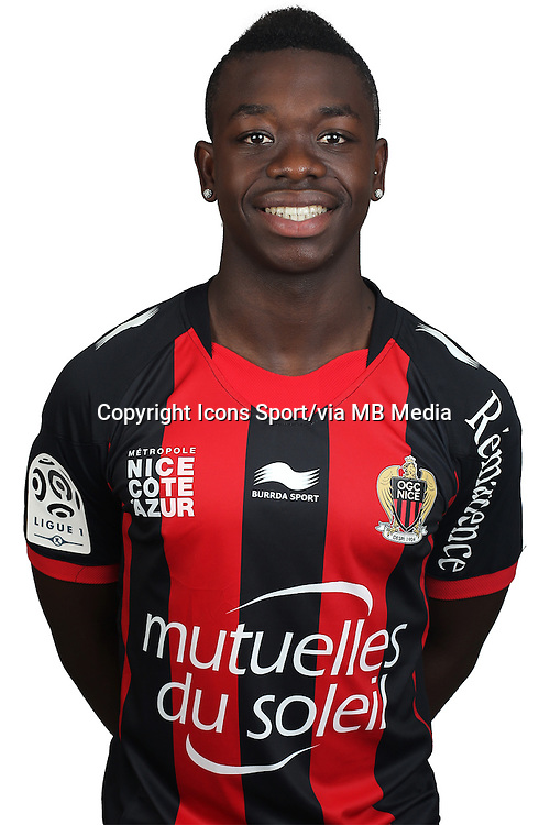 Nampalys MENDY - 02.08.2013 - Photo Officielle - Nice -<br /> Photo : Icon Sport