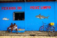 Espirito Santo - Conceicao da Barra -  Peixaria Conceicao da Barra, rio Cricare - Foto: Gabriel Lordello/Mosaico Imagem